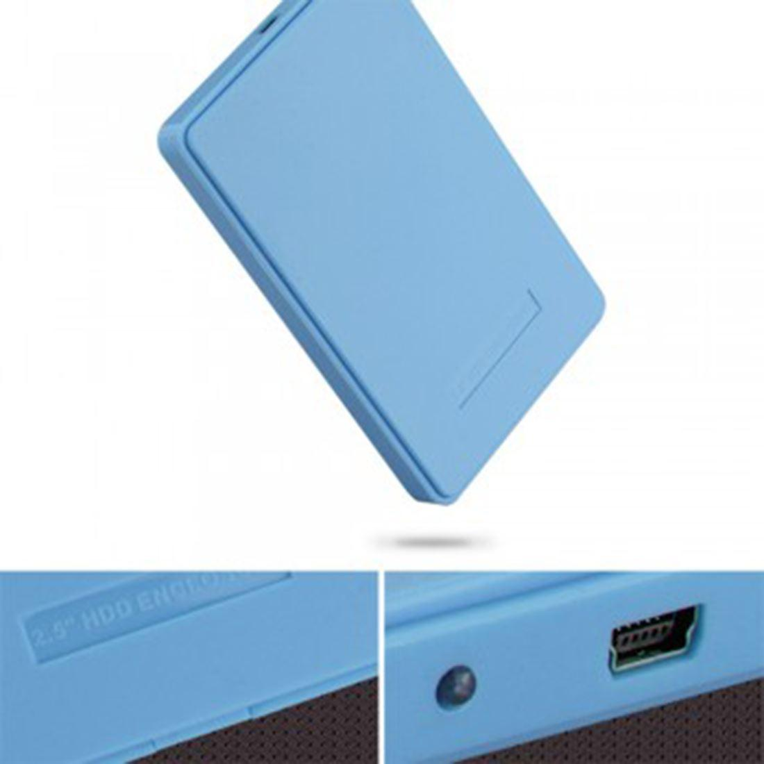 2017 blue 2 5 inch 2tb portable usb 2 0 sata hard disk - Porta hard disk sata ...