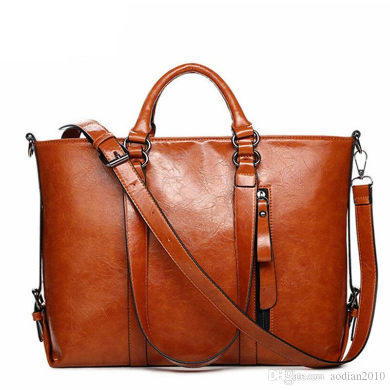 2016 New Fashion Genuine Leather Bags Tote Women Leather Handbags ...