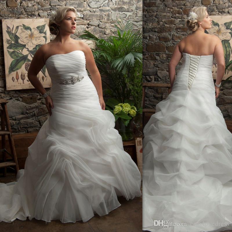 Discount mermaid trumpet plus size wedding dresses 2016 for Plus size wedding dresses on sale