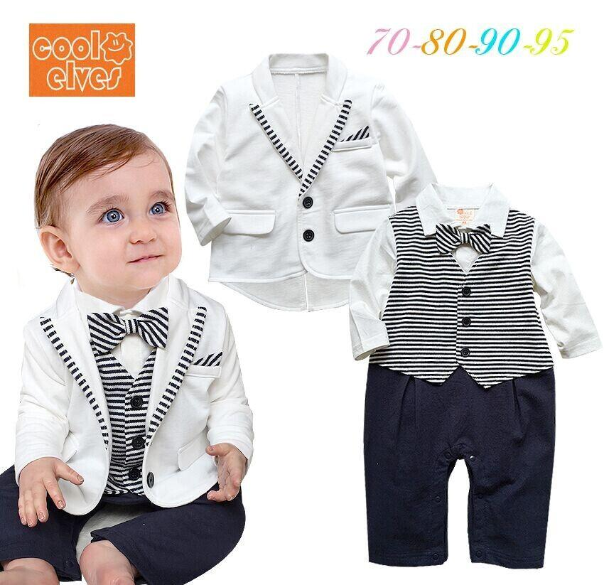 2017 16 Baby Clothing Wholesale Set Baby Boy Gentlemen