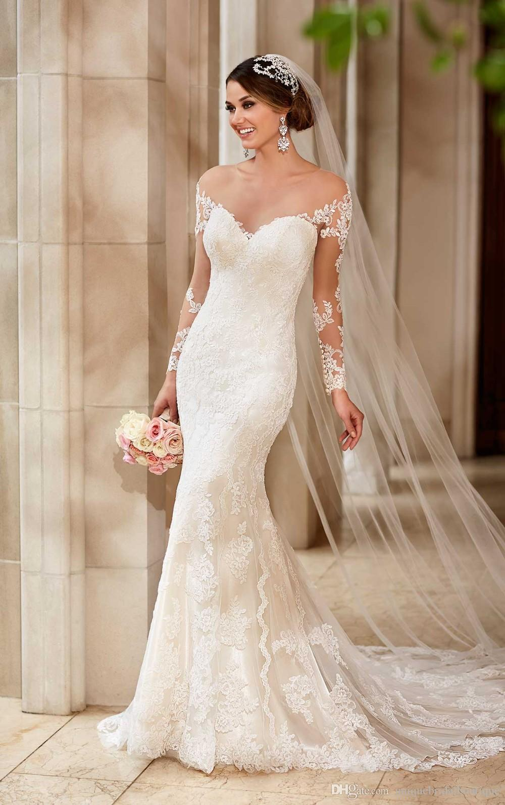 2016 in stock cheap wedding dresses under 100 with for Long wedding dresses under 100