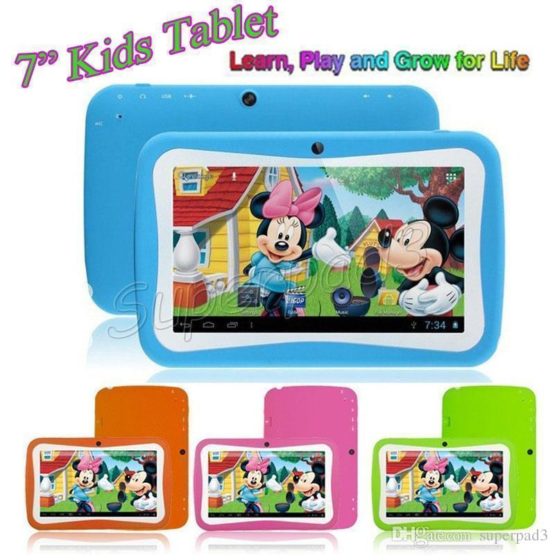 7 pouces Tablet PC 8GB RK3126 Android 5.1 Dual Camera 1024 * 600 WiFi Enfants Je