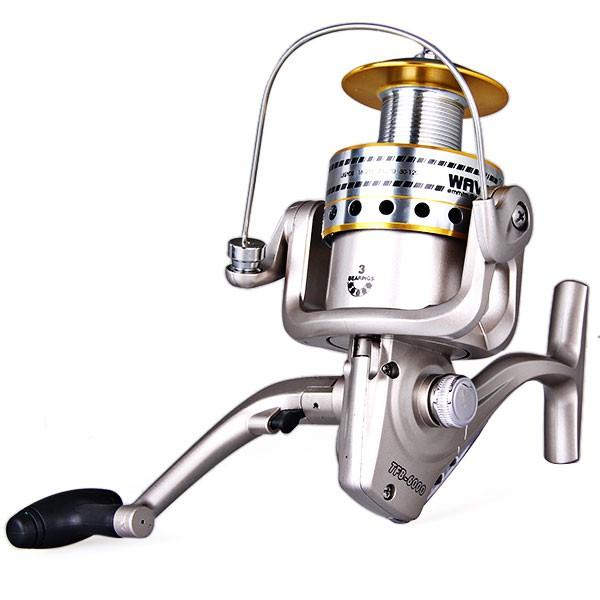 Portable fishing reel gear ratio 5 1 1 tfb 6000 with 3bb for Reel steel fishing