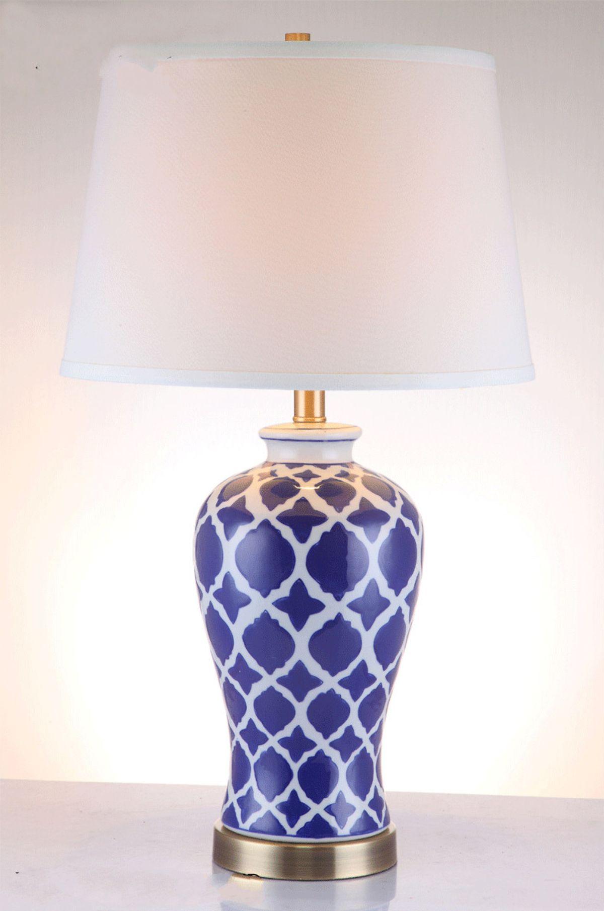 Modern ceramic table lamps - Modern Ceramic Table Lamp Bedside Porcelain Lamp Living Room Bedroom Home Lighting 27 High Ceramic Table Lamp Table Lamps Desk Lamp Led Light Online With