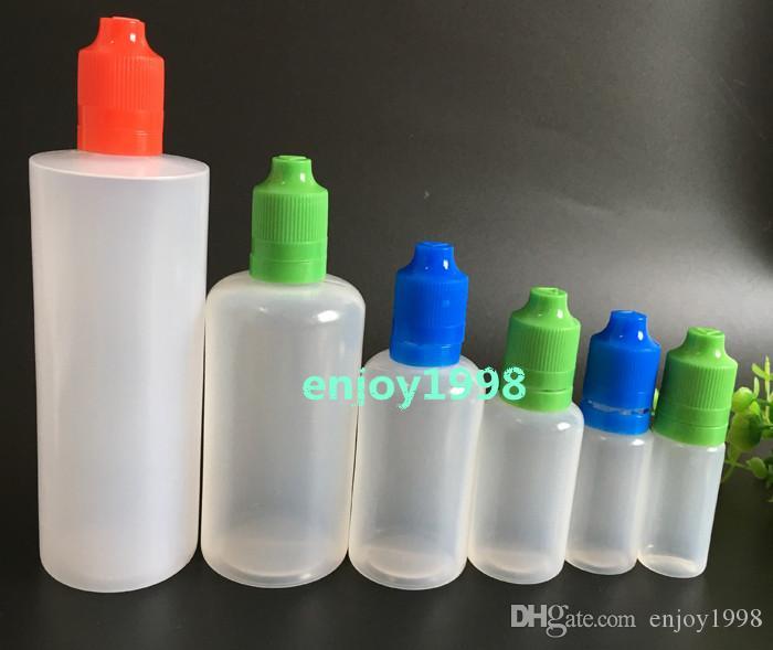 10ml 15ml 30ml 50ml 100ml 120ml e liquid empty bottle pe plastic