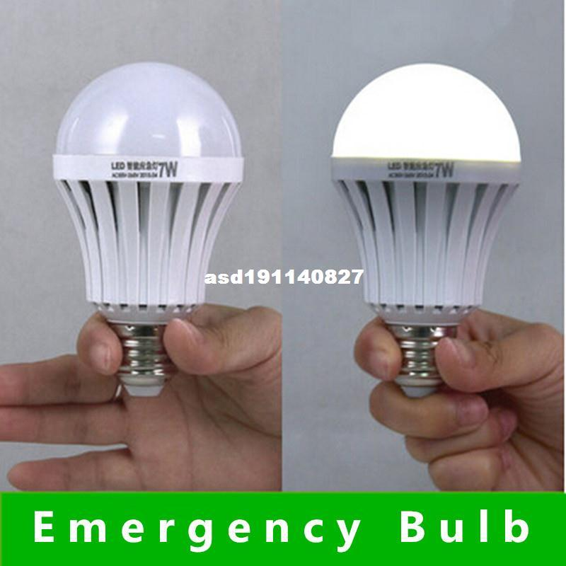 Automatic Charging Emergency Light LED Emergency Bulb 7w 9w Cool White Rechargeable Battery E27 AC 220V Battery DurationLED Bulbs 3 Hours Led L& E27 ... & Automatic Charging Emergency Light LED Emergency Bulb 7w 9w Cool ... azcodes.com