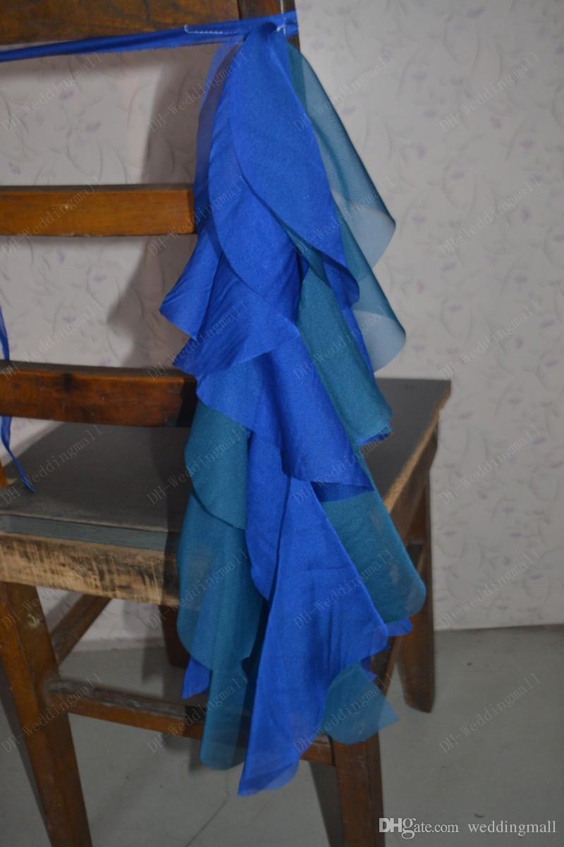 how to make chiffon chair sash