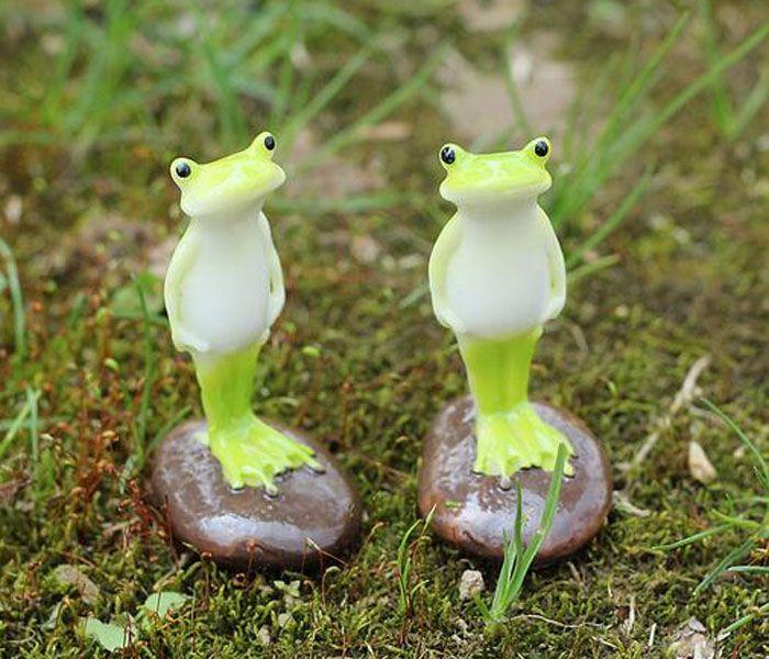 Online cheap house ornaments garden figures animal frog for Figurine decoration jardin