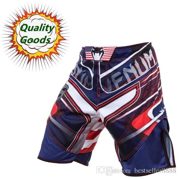 Quality goods--MMA M1 USA Hero fight short -- Muay Thai/Boxing shorts