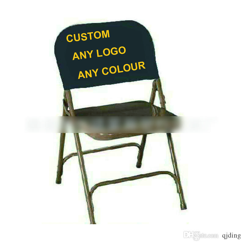 Charming PVC/PU Custom Chair Cover Loose Cover Advertisement Logo Printing  17cm*54cm/any Size DHL/SF Chair Covers Advertising Chair Cover Chair Loose  Covers Online ...
