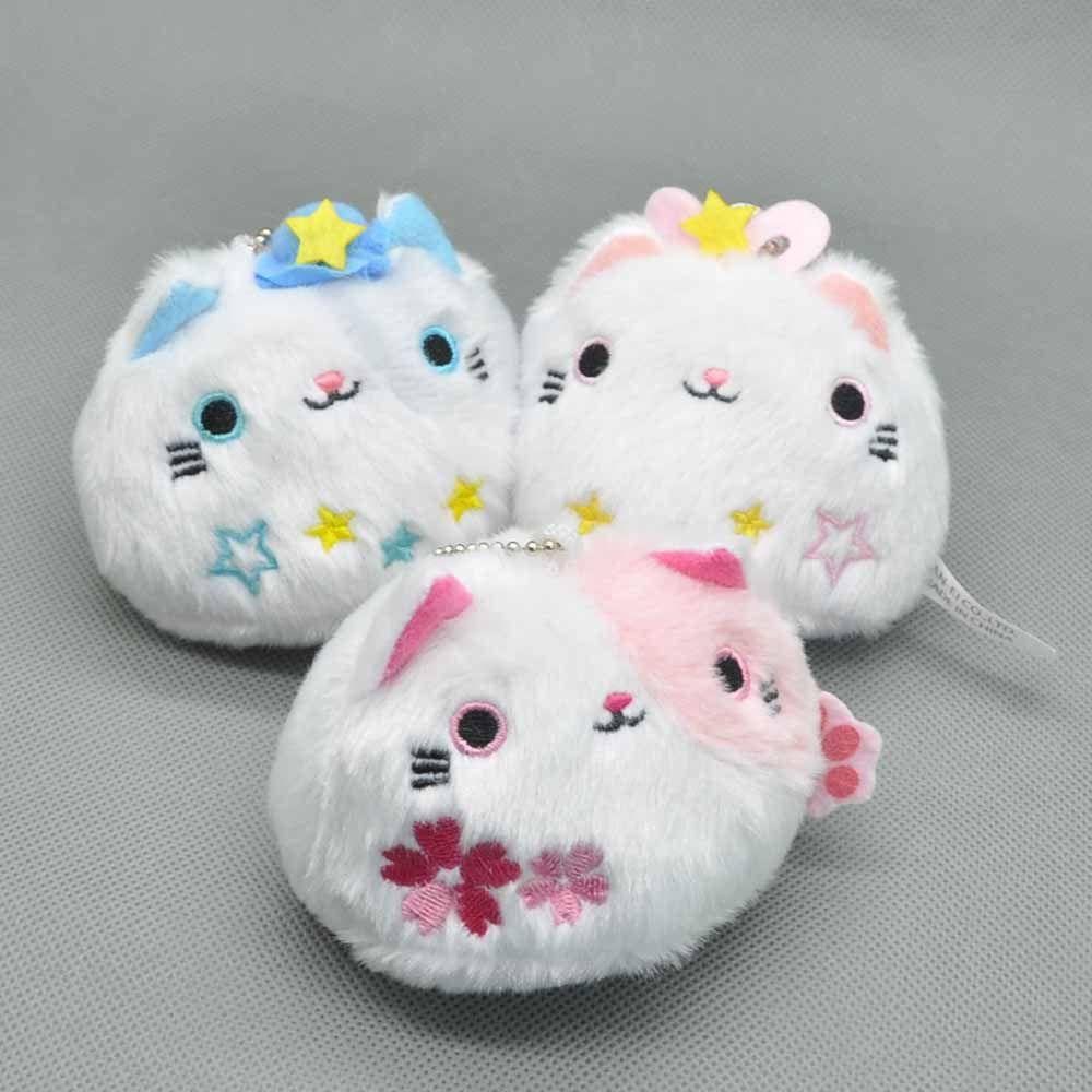 ems 30neko atsume cat backyard cat plush doll stuffed toy 3