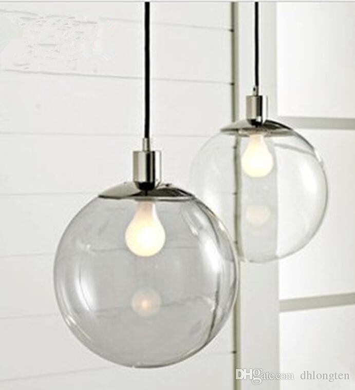 Fashion Lamp Scandinavian Minimalist Glass Ball Pendant