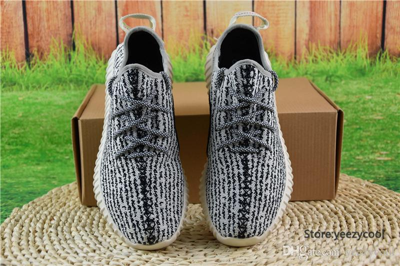 With Original Box Adidas Yeezy Running Shoes 350 Boots Men ...
