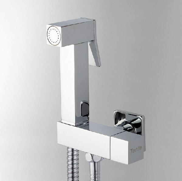 chromed brass bidet sprayer set bathroom faucet accessories hand shower  seat shower hose from flygrace dhgatecom. Bathroom Faucet Hose  Bathtub Faucets With Shower Attachment