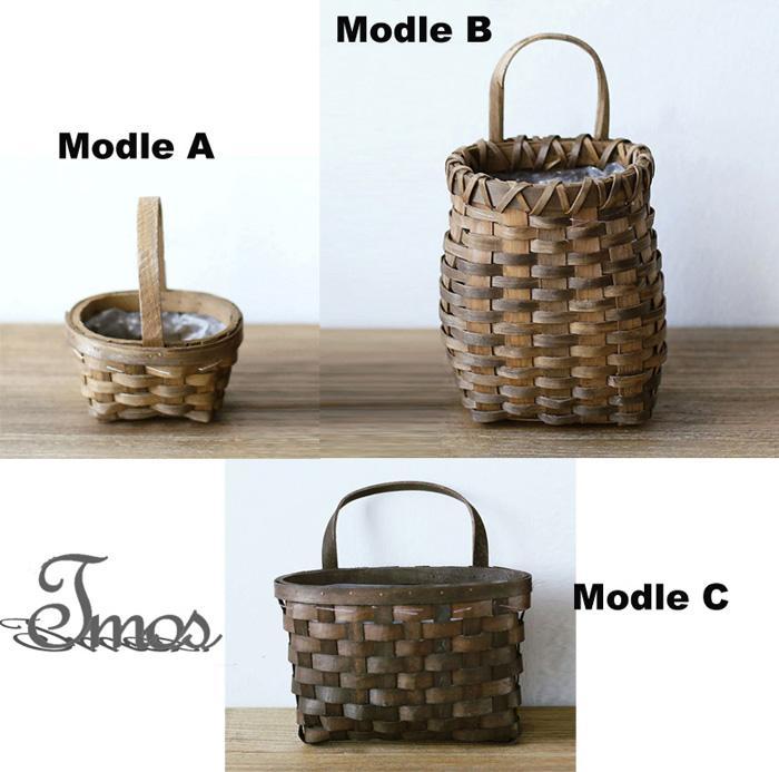 Handmade Pack Basket : Pack mini pure handmade basket wicker rattan vases