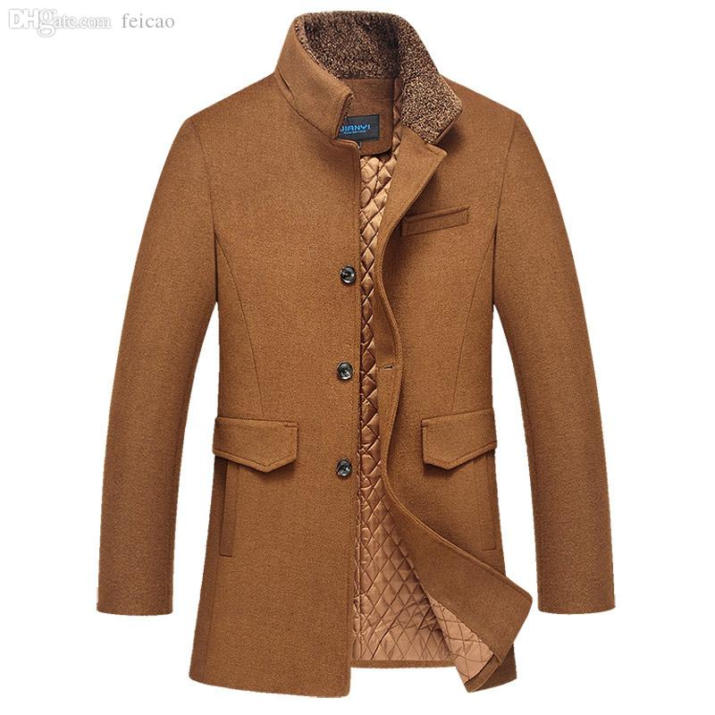 Brown Duffle Coat Mens Fashion