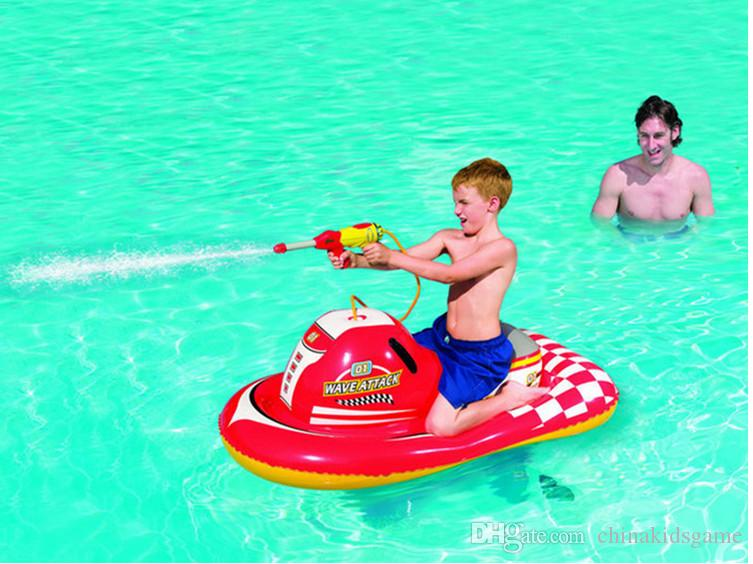 2017 Low Price Water Motor Boat With Gun Water Pool Toy