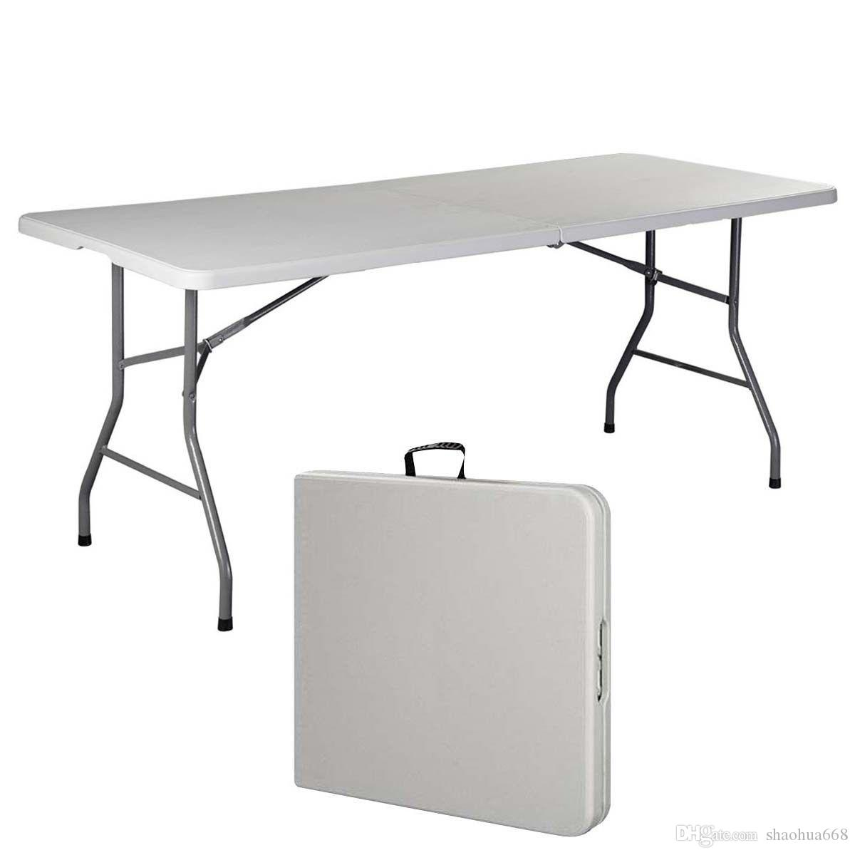 2017 6 folding table portable plastic indoor outdoor for 0 60 table