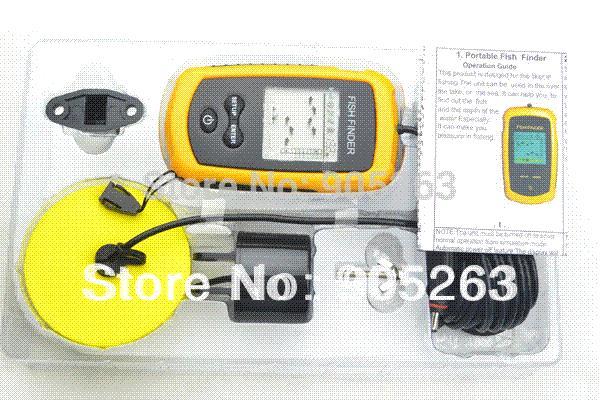 portable sonar lcd fish finder alarm 100m ap ice fish finder sonar, Fish Finder