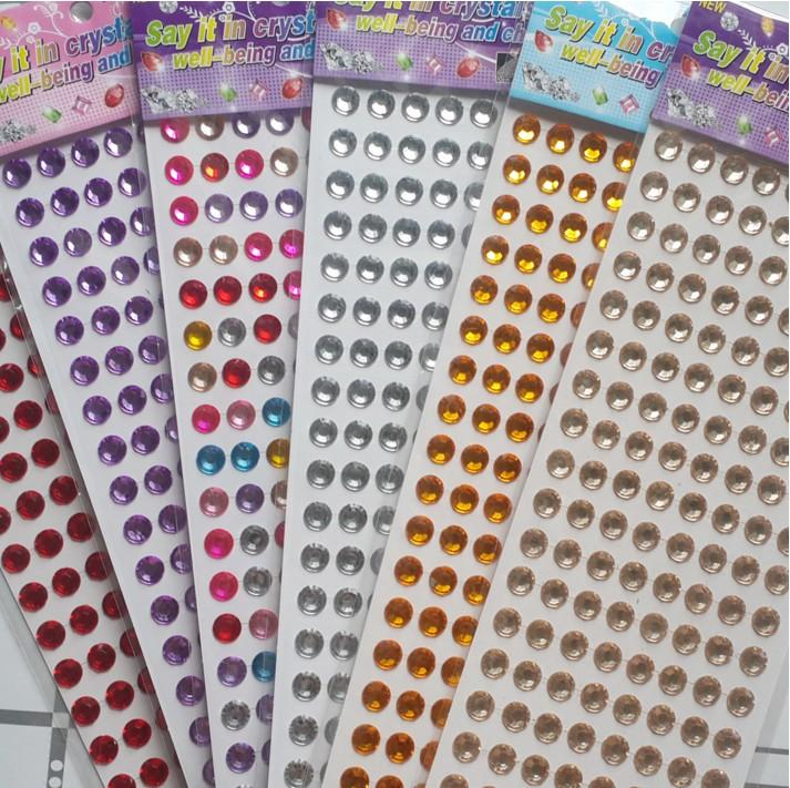 Decorative Rhinestone Stickers : Best wholesale car rhinestone crystal sticker sheet diy