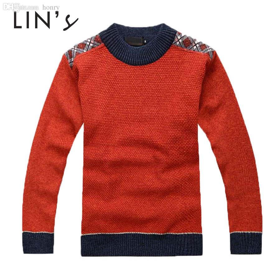 Wholesale-Christmas New Design Mens Cotton Sweater Crochet ...