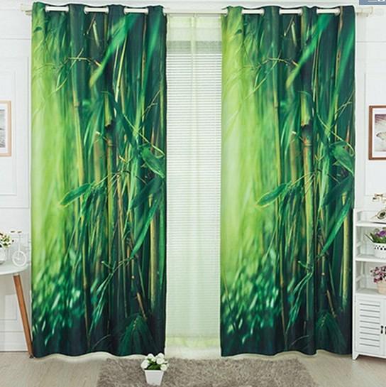 Blackout Curtains blackout curtains cheap : 2017 3d Curtain Blackout Curtains Set For Window Living Room ...