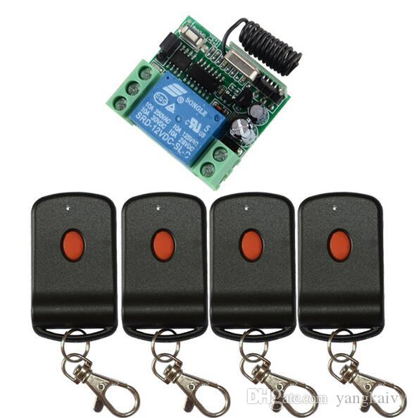 2018 dc 12v 1ch learning code wireless remote control for 12v garage door remote