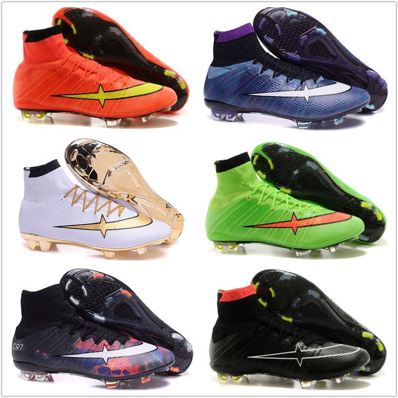 2017 Wholesale Soccer Shoes Mercurial Superfly Fg Cr7 Acc Men ...