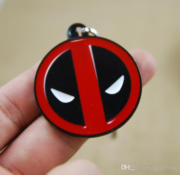 super hero deadpool comics metal keychain keyring products with sealed retail package movie. Black Bedroom Furniture Sets. Home Design Ideas