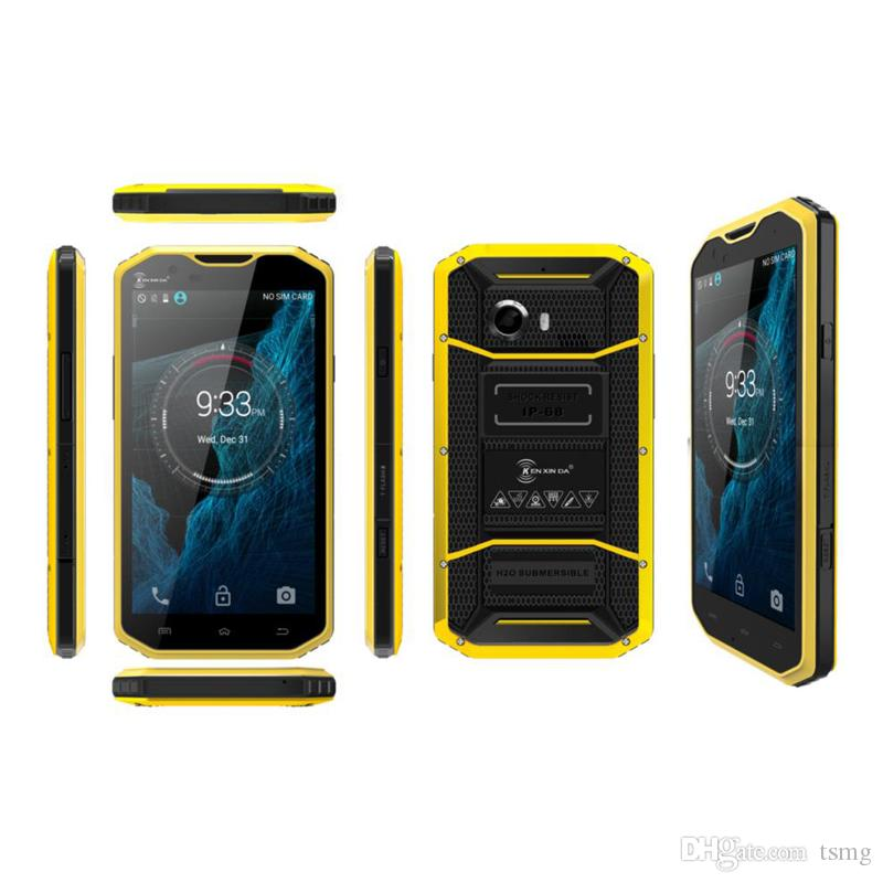 Kenxinda W8 Smartphone MTK 6753 Octa Core 5.5Inch Téléphone portable Android 5.1