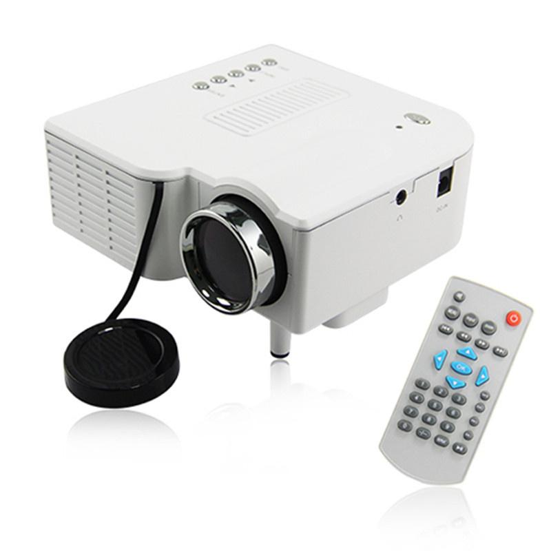 Grossiste-UC28 PRO HDMI Mini projecteur portable Projecteur de divertissement Ho