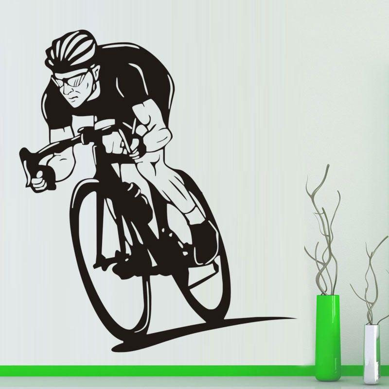 Diamond Level Sport Bike Wall Decals Bicycle Vinyl Art Wall - Custom vinyl decals for bikes