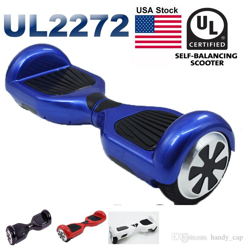 UL 2272 Electric Scooters USA Stock Hoverboard LED Light Self Balancing Scooter Skateboard Cxinwalk Safest Drifting Board CE UL Hoverboard