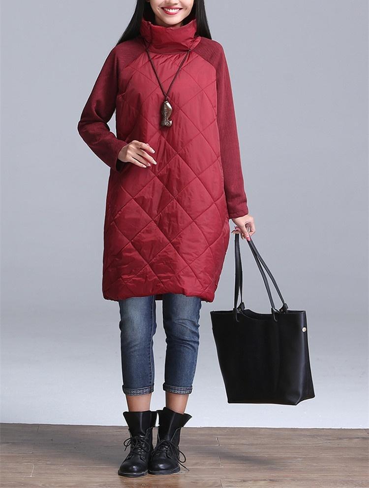 grande robe de taille winter thick t shirt dress women. Black Bedroom Furniture Sets. Home Design Ideas