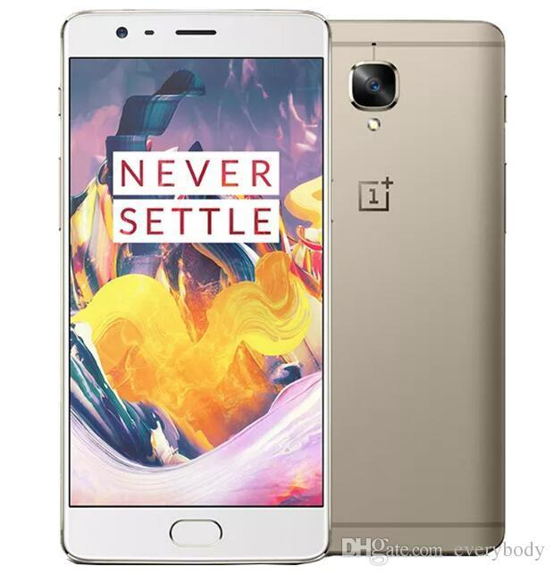 One plus 3 Oneplus 3T LTE 4G Mobile Phone Snapdragon 821 5.5 inch Android 6.0 6G RAM 64/128G ROM 16MP