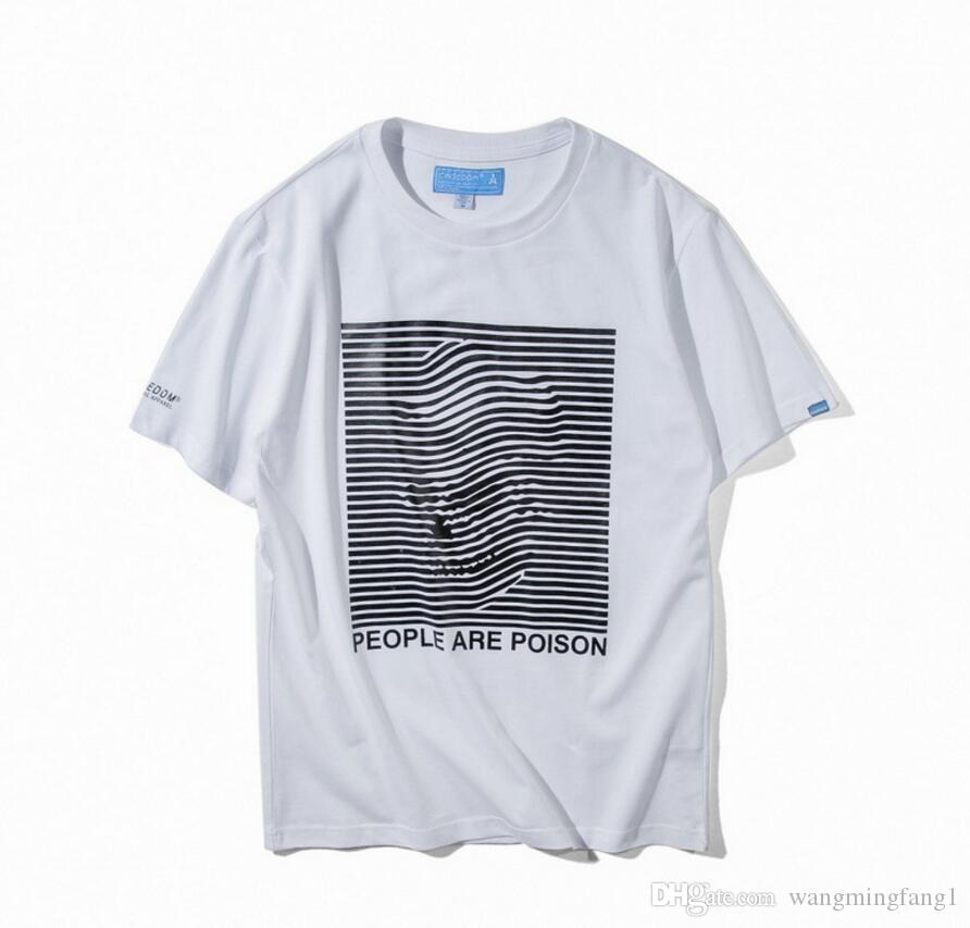 Simple embroidery t shirt men s tide brand model