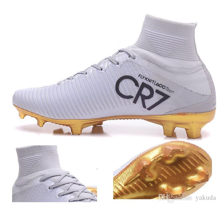 2017 CR7 Superfly FG Soccer Cleats, CR7 FG Chaussures de soccer solitaire, Ronal