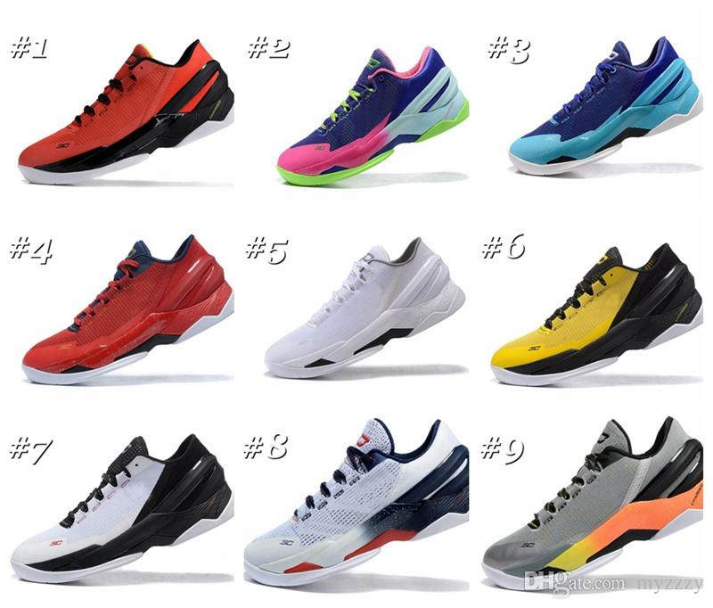 2017 Curry 2 Basketball Shoes For Mens Stephen Curry 2 Low ...