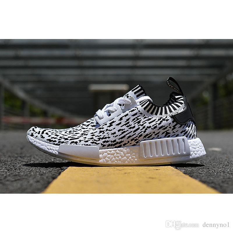 Adidas NMD R1 Black Champs Wool Reflective B39505 Size 10.5