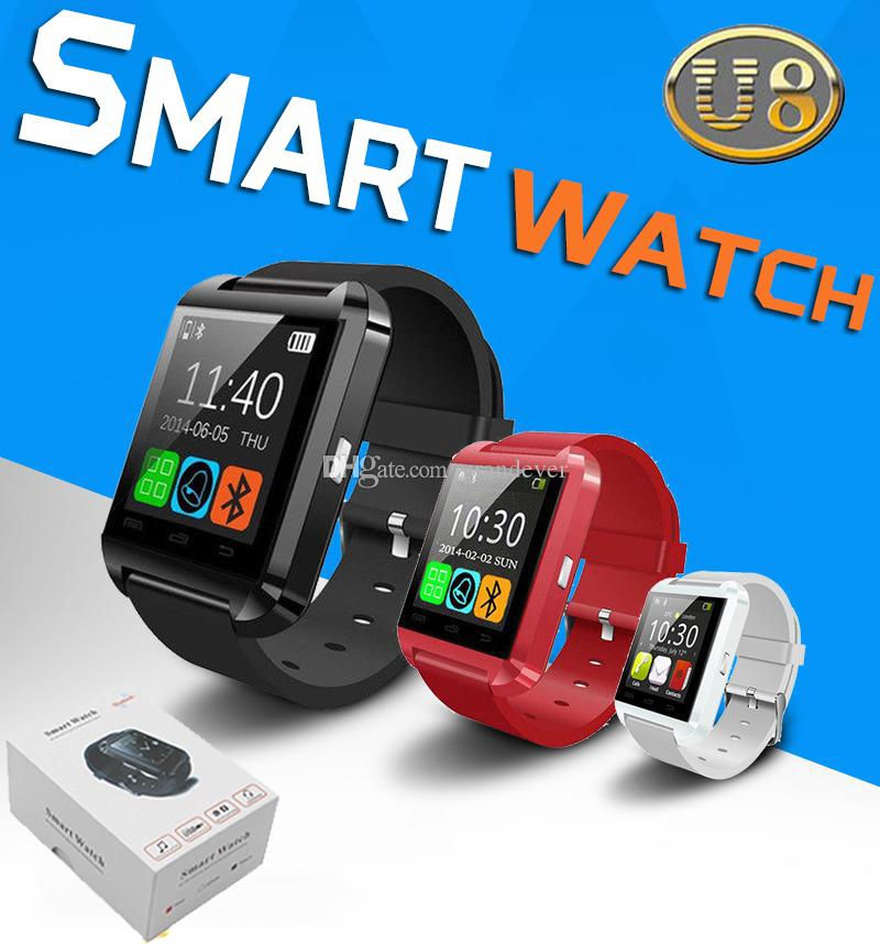 U8 Bluetooth Smart Watch Wrist Watches Smart Watch For ...