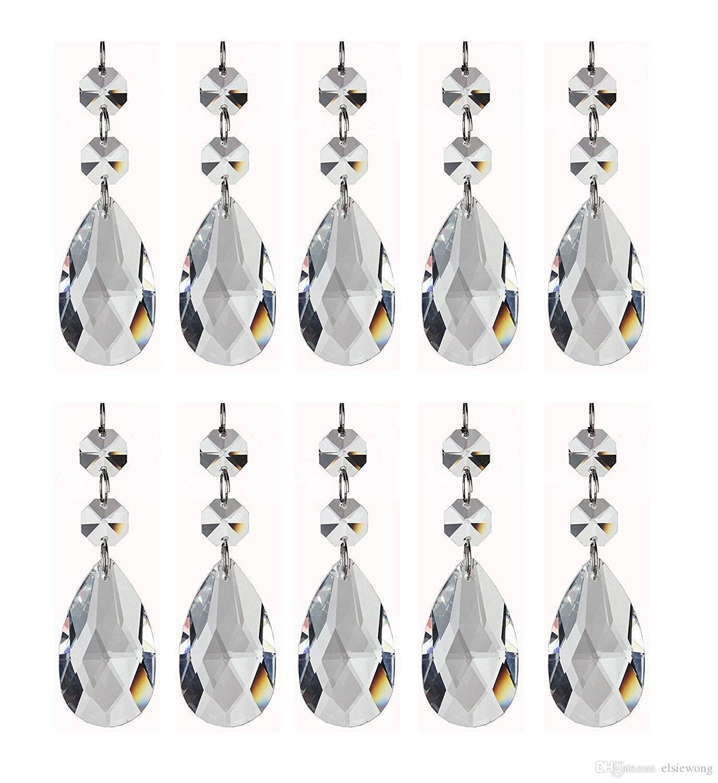 Aaa Quality Clear Teardrop Acrylic Chandelier Prisms Pendantsteardrop  Chandelier Crystal Pendants Glass Pendants Beads Pack Of Pendants Beads  Acrylic