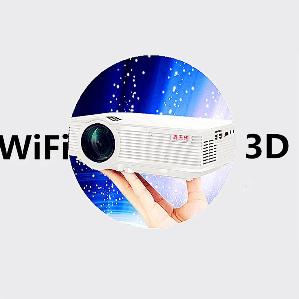 Wholesale new mini digital projector 800 lumens hd home for Mini digital projector