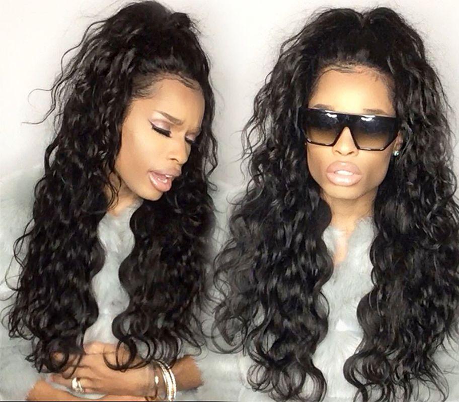 Brazilian Human Hair Ponytail Deep Wave 4 Bundles Virgin