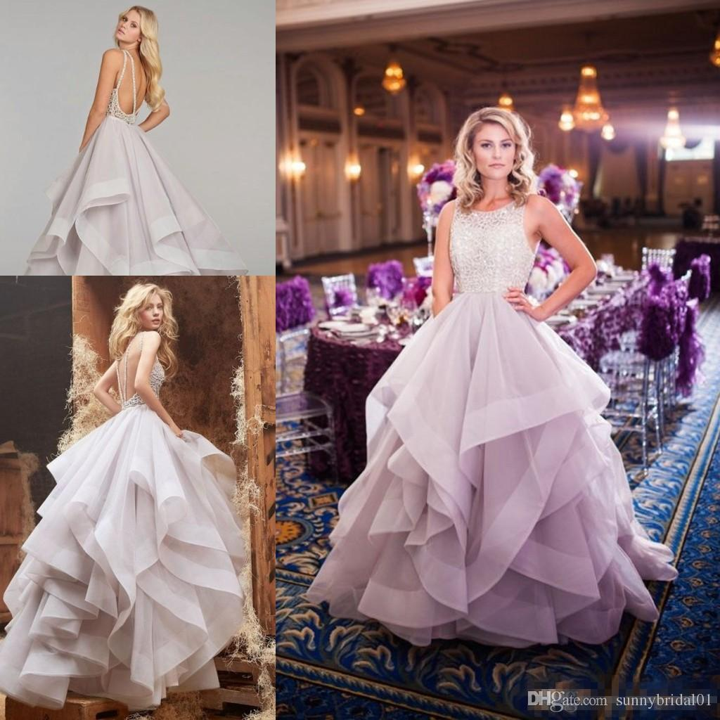 Discount Haley Paige 2017 Light Purple Sparkly Beaded