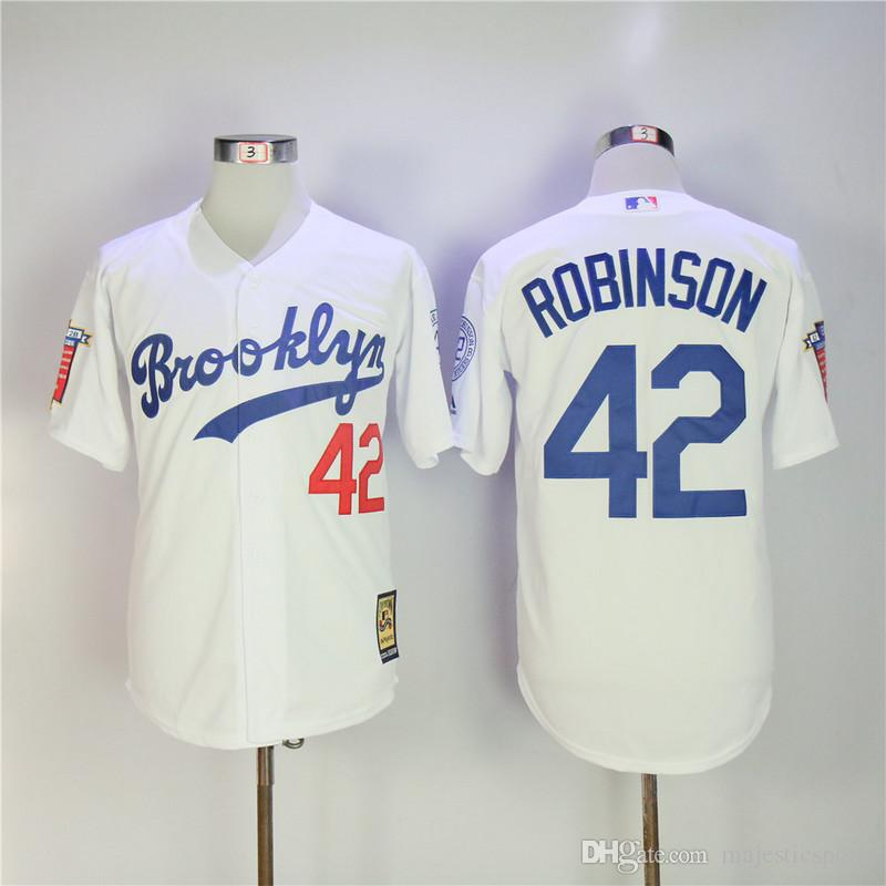 ... jackie robinson jersey black career highlights and awards patch los  angeles brooklyn dodgers ... 0d19af0ca18