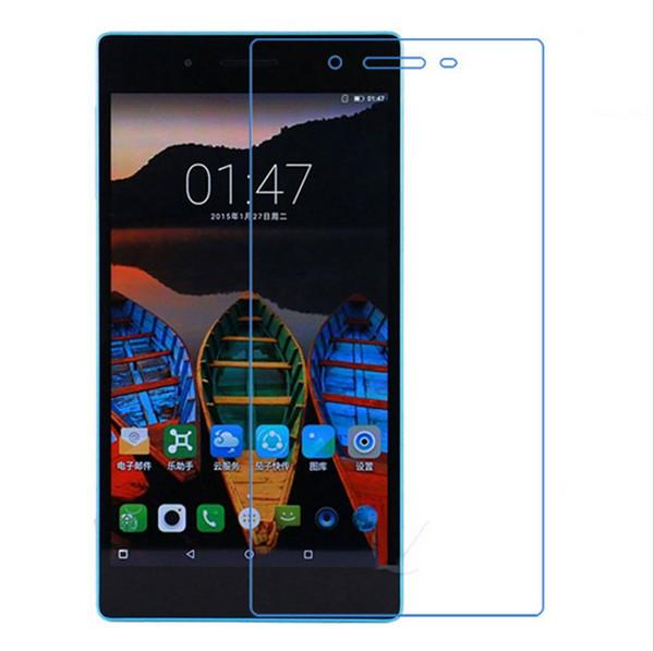 - 9H Tempered Glass Screen Protector Film Lenovo Tab 3 7 730F 730M 730X (TB3-730F/TB3-730M ) + Alcohol Cloth Dust Absorber