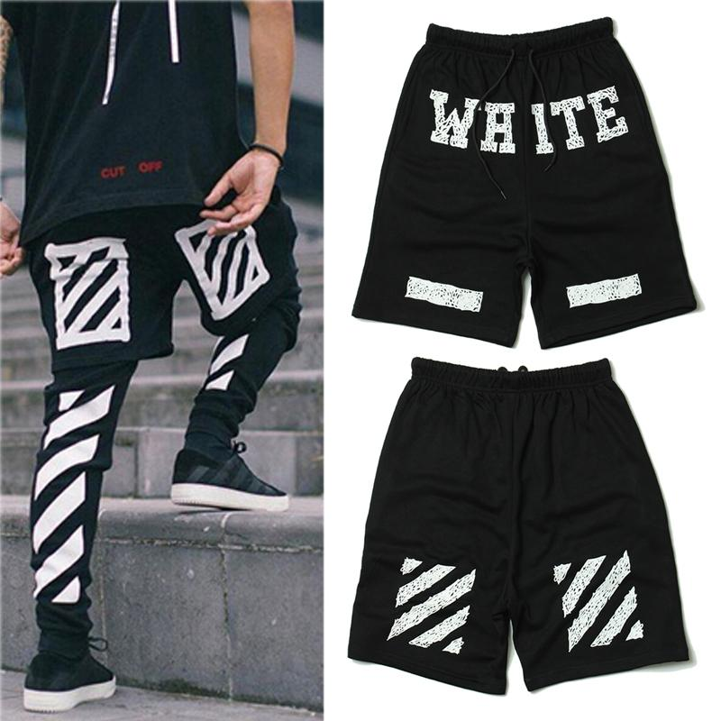 Wholesale- Off White Shorts 2017 Summer Style Casual Religious Off ...
