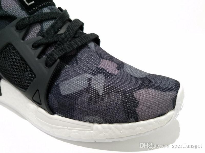 Mens adidas NMD Xr1 Duck Camo Core Black Running White