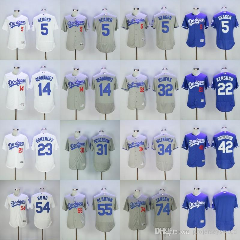 Dodgers Jerseys Cheap Mens 5 Corey Seager 7 Julio Urias 22 Clayton Kershaw 32 Sa