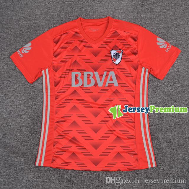 River Plate Away Soccer Soccer Jerseys Chemises rouges
